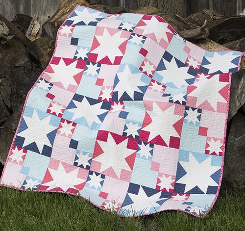 Summer Sparkle Quilt Free Tutorial