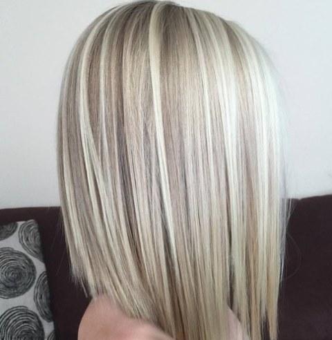 Potongan Rambut Swoopy layer Menengah