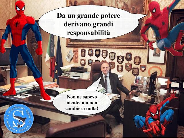Rettorato Uniba Uricchio Spider-man