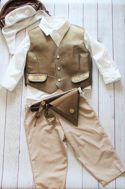 little boy steampunk costume