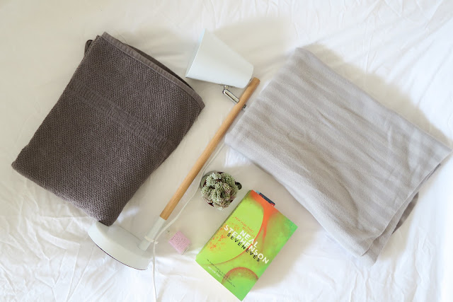 #GuestBedReady bedside table essentials