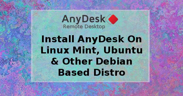 download anydesk ubuntu
