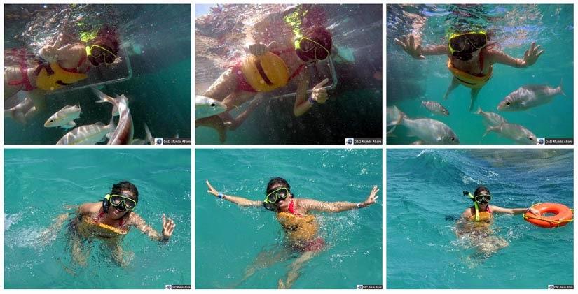 Snorkel em Maracajaú - Rio Grande do Norte