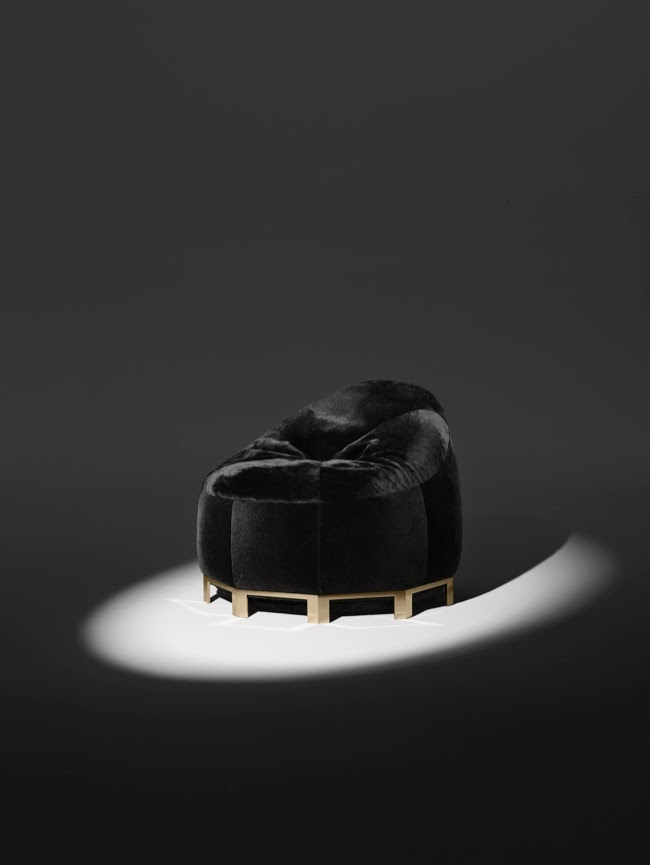 Alexander Wang criou uma suíte para Poltrona Frau Furniture