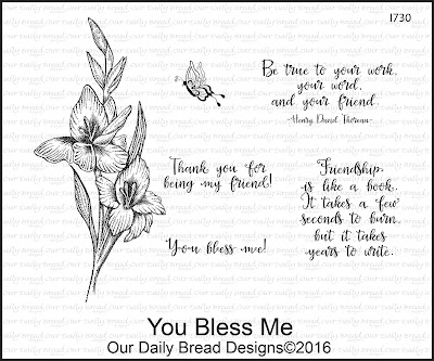 Our Daily Bread Designs Stamp Set: You Bless Me