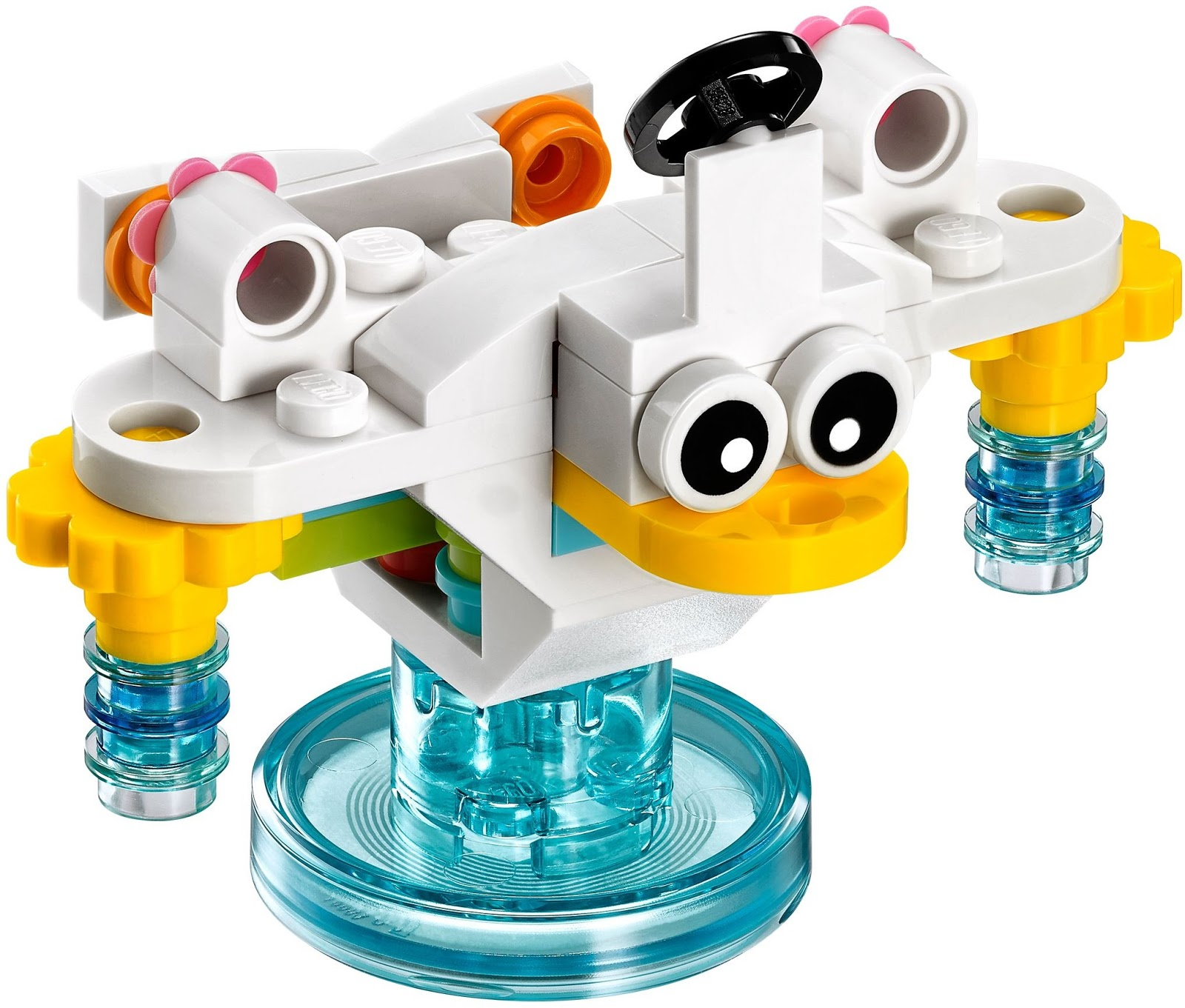 Lego Dimensions Unikitty Cloud Cuckoo Car X Stream Soaker Vehicle Chiayo Snack Energy Ballcup Mix Toy Tag Base