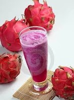 How To Make A Dragon Fruit Juice & Recipe