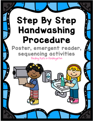 https://www.teacherspayteachers.com/Product/Hand-Washing-Procedures-Reader-Poster-and-Sequencing-Pocket-Chart-3292633