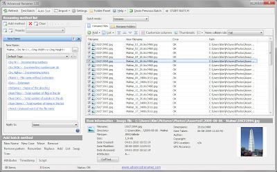 批次檔案文件資料夾重新命名軟體,Advanced Renamer V3.60 繁體中文綠色免安裝版!
