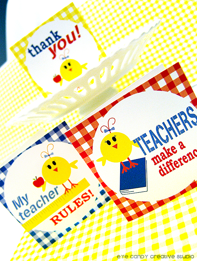my teacher rules, teachers make a difference, mini cards for teachers