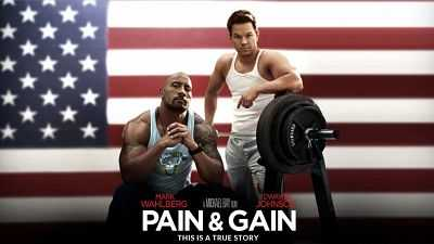 Pain & Gain 2013 Hindi - English 400mb Dual Audio BluRay