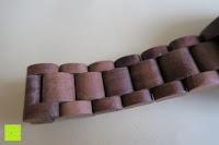 Material: Holz Armbanduhr 360° Nut