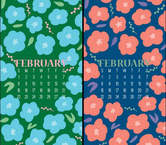 February 2015 iPhone & Desktop Wallpapers