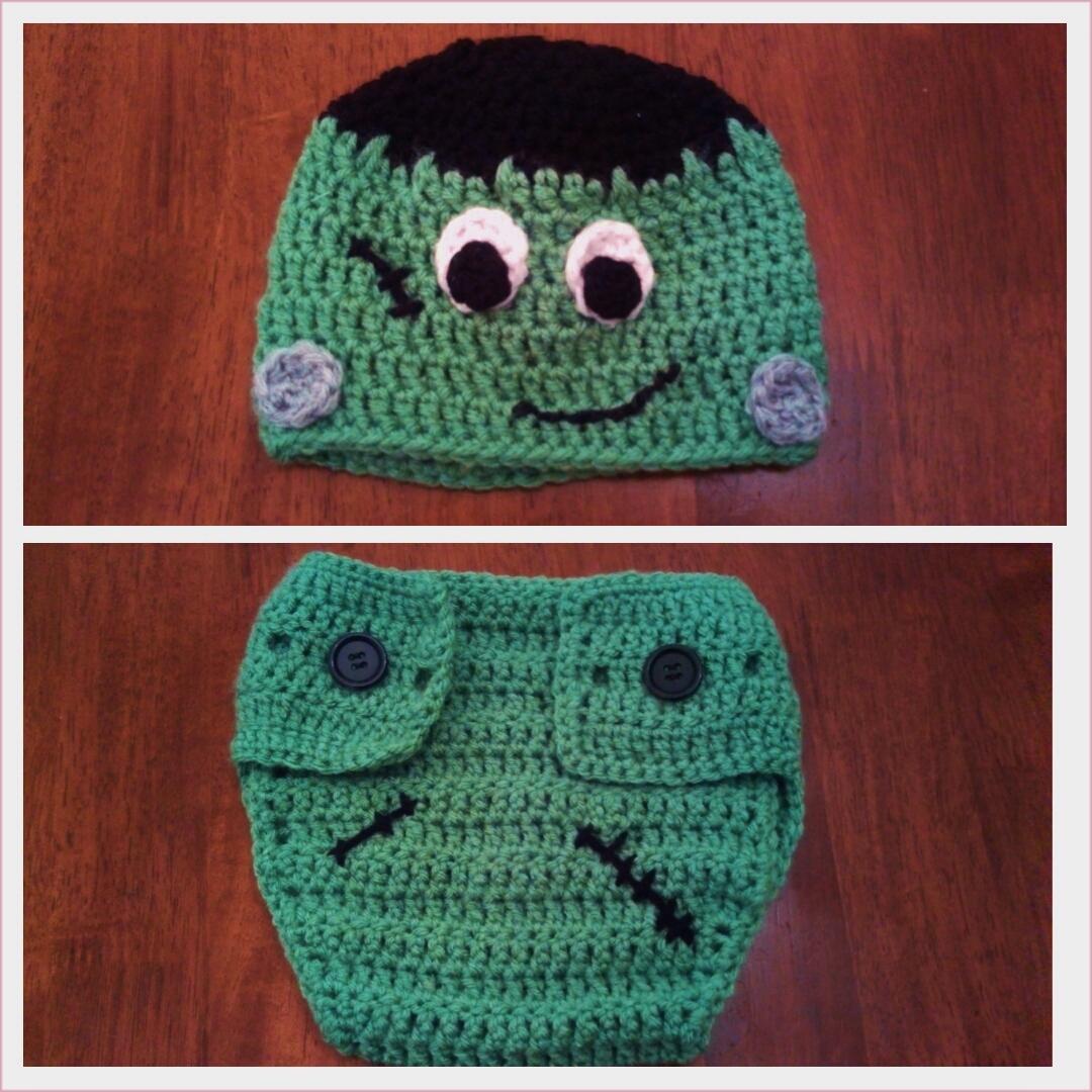 f304fd8839b16 Butterfly s Creations  Frankenstein Beanies