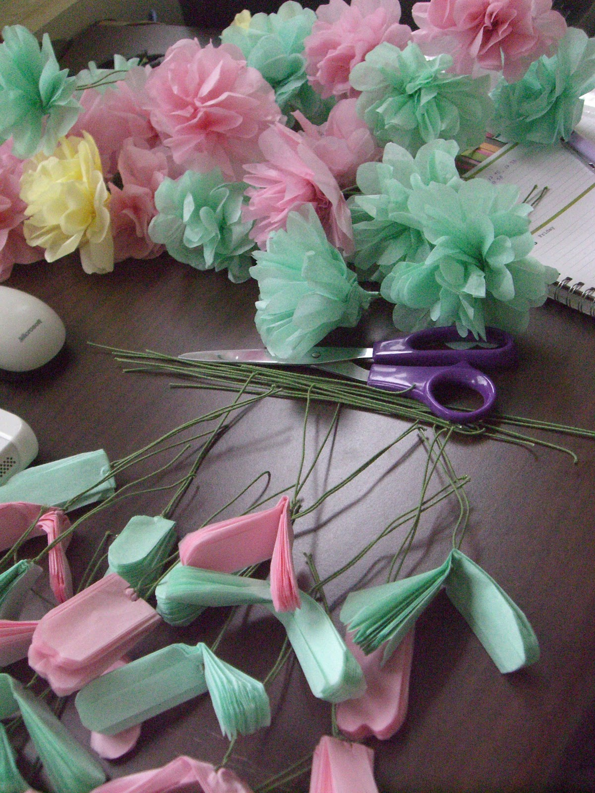 ... can see pictures of tissue paper flowers tissue paper flowers for kids