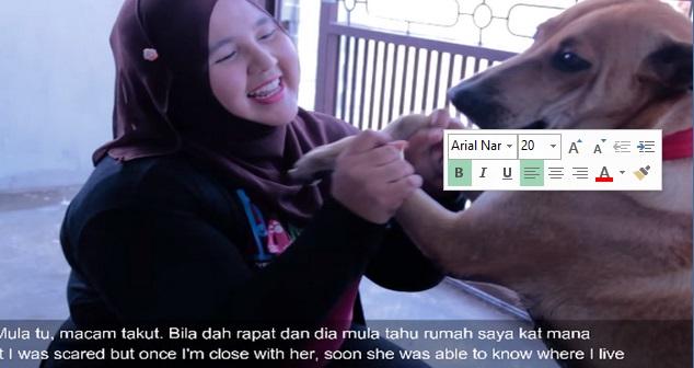 "Video: ""Loving my BFF!"" – Wanita muatnaik rakaman dia memeluk dan mencium anjing dakwa orang Melayu patut bela anjing"