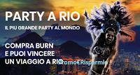 Logo Concorso ''Festeggia il Carnevale di Rio con Burn'': vinci viaggio a Rio de Janeiro