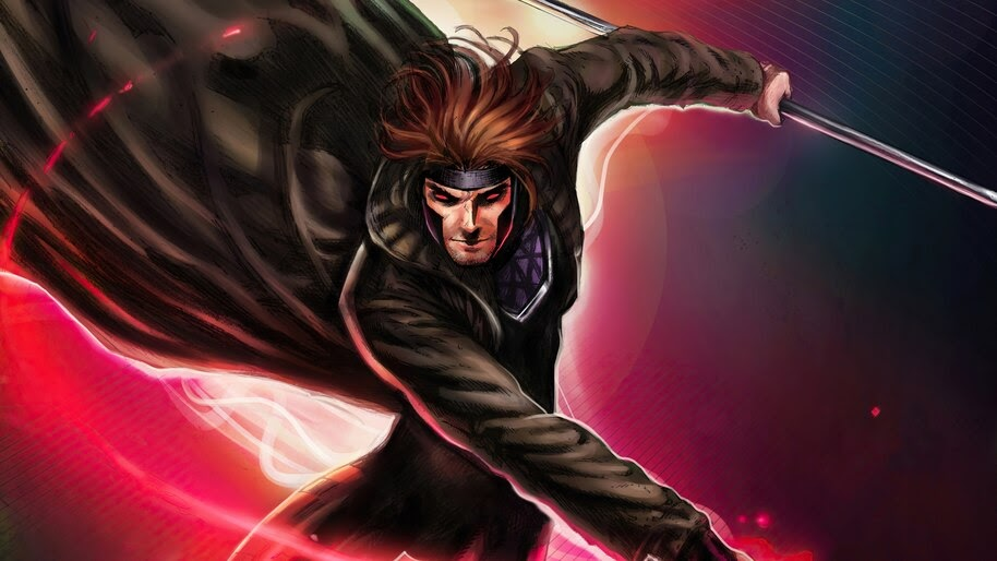 Gambit, Cards, Marvel, Comics, 4K, #6.2116