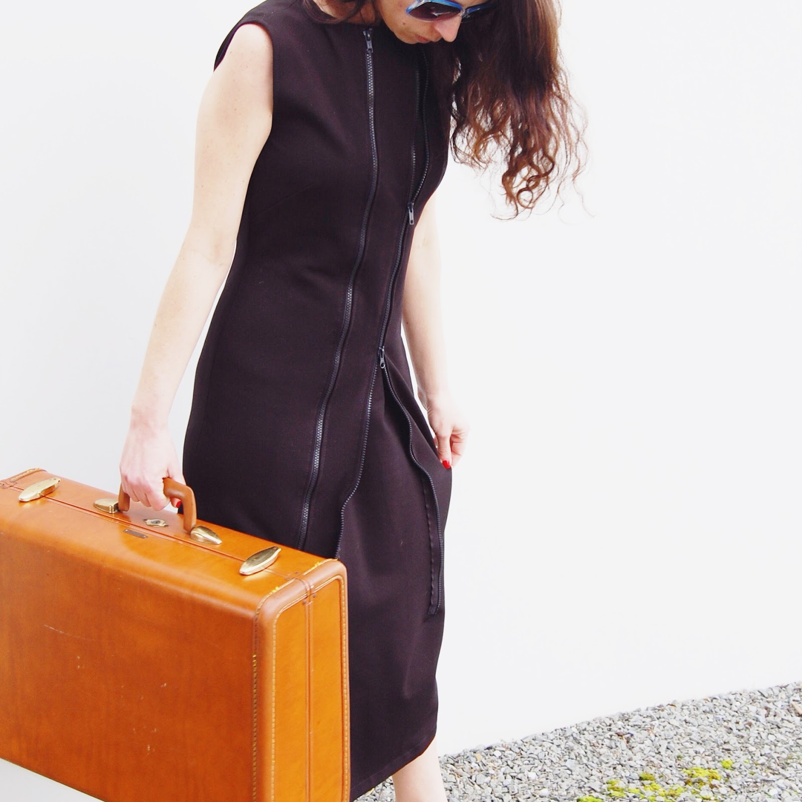 The Zipper Dress by Poppyseed: Engineered to Change with You
