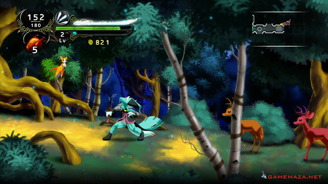 Dust an Elysian Tail Gameplay Screenshot 1