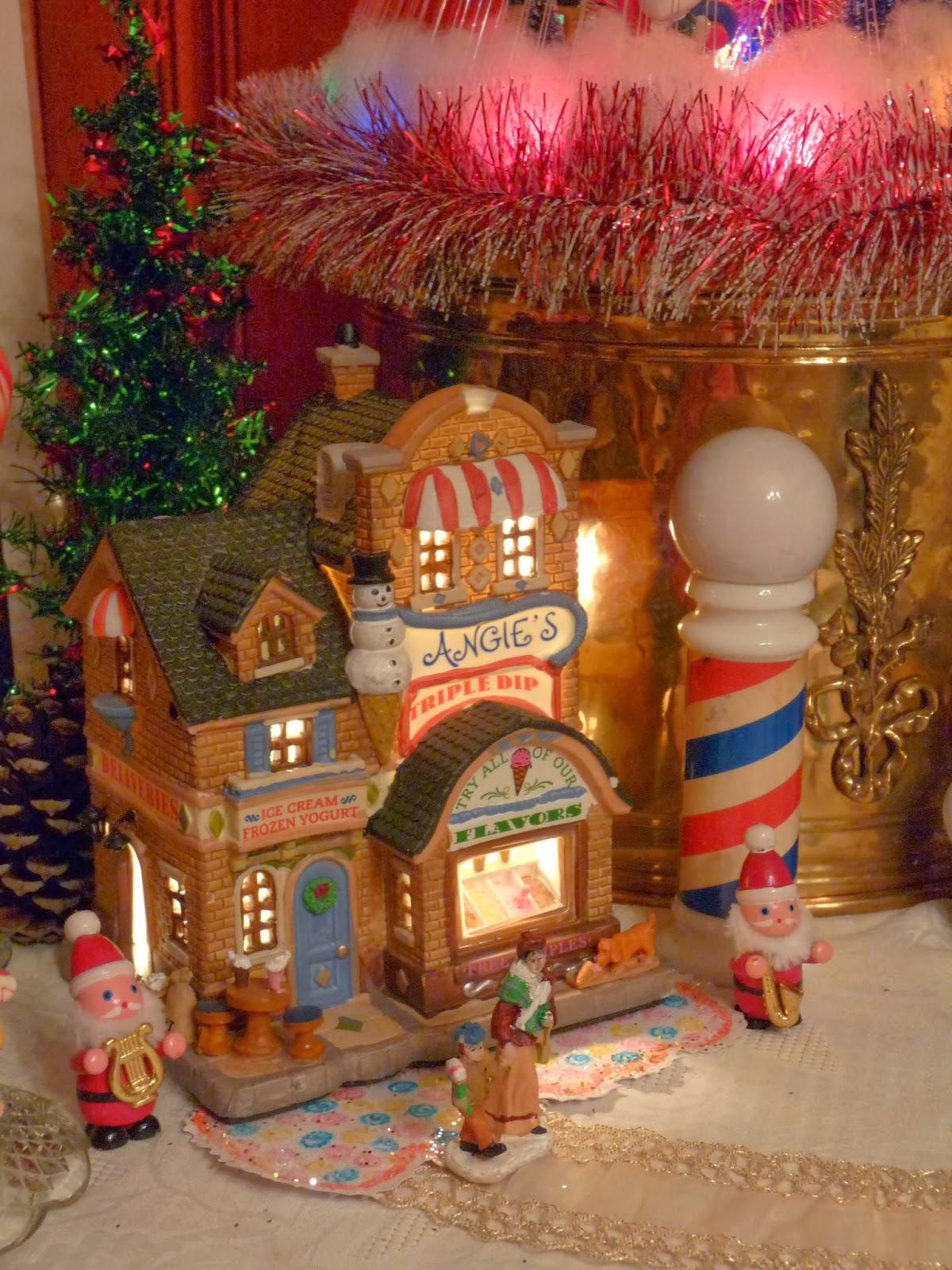 Carole towne christmas village lowes myideasbedroom com