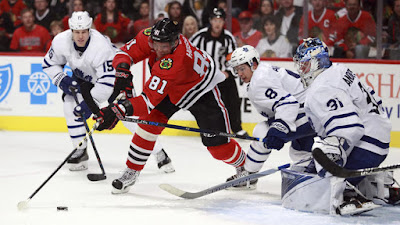 Photos from the Blackhawks-Maple Leafs game at the United Center on Saturday, Oct. 22, 2016.