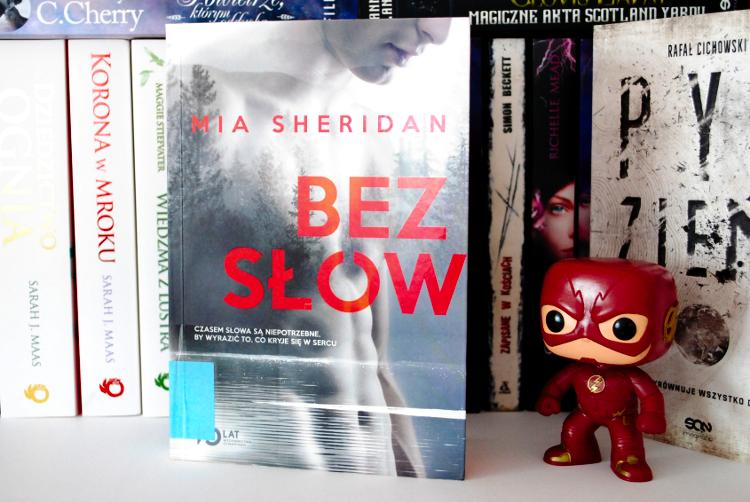 Mia Sheridan, Bez słów, recenzj bez słów, mia sheridan books