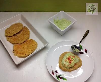 Tortitas Veganas de Quinoa.