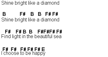 Flute Sheet Music: Diamonds