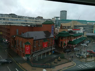 China Town from the hotel window