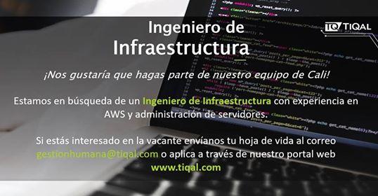 Ingeniero de infraestructura