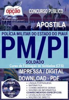 Apostila Concurso Polícia Militar-PI Soldado PM-PI PDF