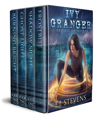 Ivy Granger Psychic Detective Box Set Frostbite, Shadow Sight, Ghost Light, Burning Bright