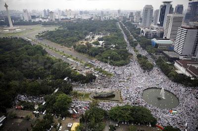 aksi bela islam 4 november di bundaran hi