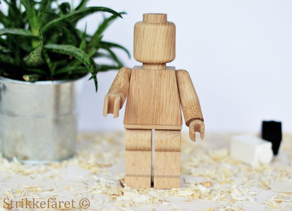 Vellidte Strikkefåret: Træmand YD-35