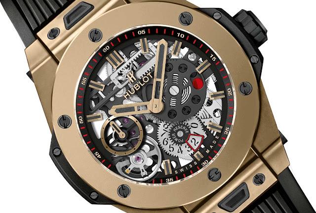 Réplicas De Reloj Baselworld Hublot Big Bang Meca-10 Magic Gold Revisión