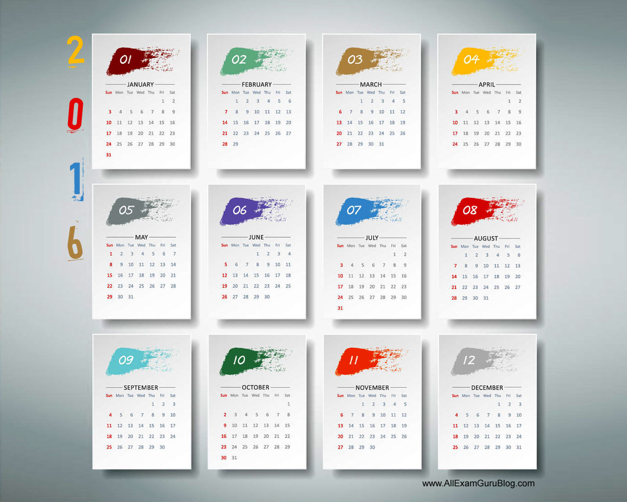 2016 calendardesktop wallpaper calendar 2016 download