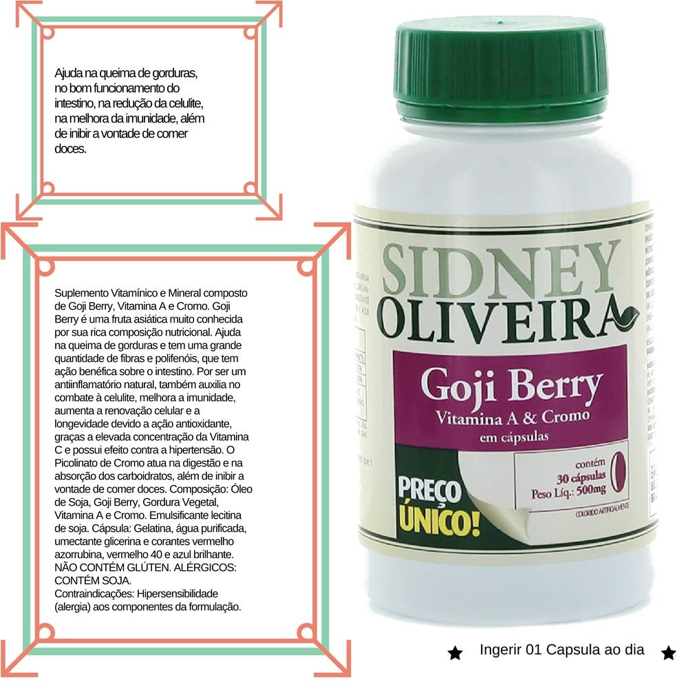 7d9bf1737 Dicas de Saúde - Vitaminas   Minerais. Goji Berry