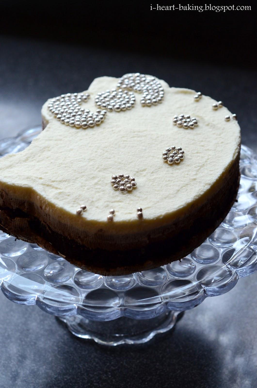 I Heart Baking Hello Kitty Triple Chocolate Mousse Cake