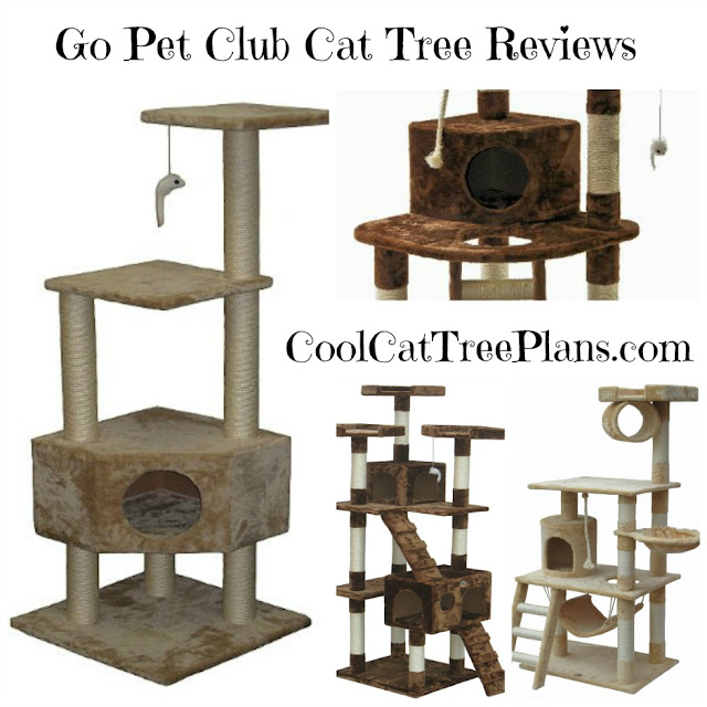 Cool cat tree plans go pet club cat tree review for Cat climber plans