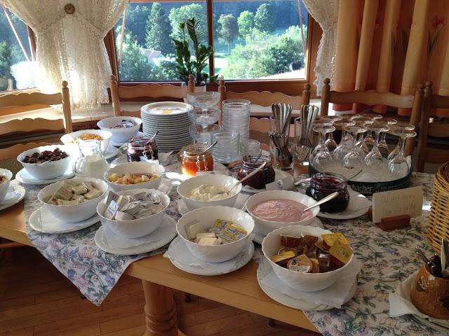 desayuno Selva Negra niños