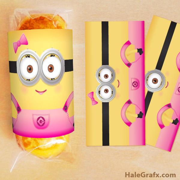 Minions Chicas: Etiquetas para Twinkies para Imprimir Gratis ...