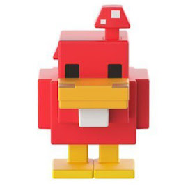 Minecraft Series 19 Chicken Mini Figure
