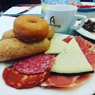 Desayuno potente en Barcelona