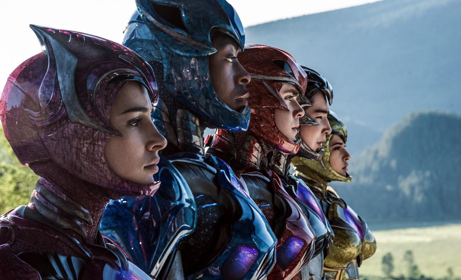 """Cartazes individuais de """"Power Rangers: O Filme"""" apresentam melhor o visual dos heróis"""