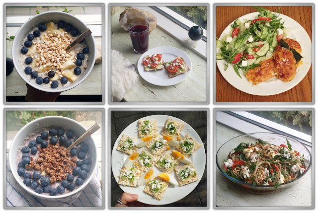 healthy food new diet jamier oliver counting calories feta salad pasta porridge blueberries jofee maltese beauty blog blogger instagram daily life