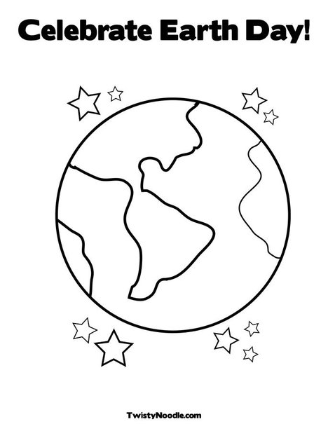 earth day coloring pages 2013 - photo#22