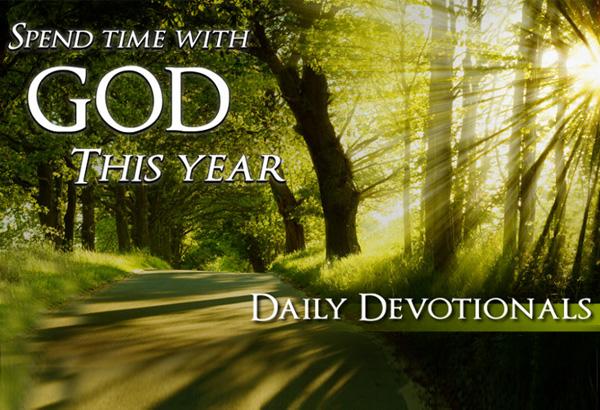 Today's Devotion (Monday)