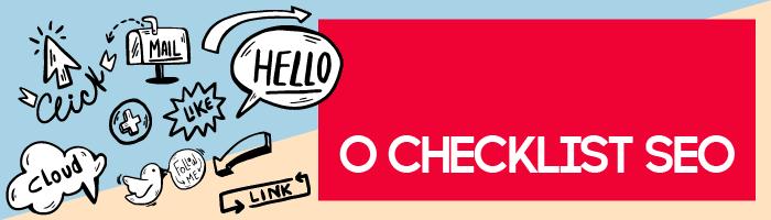 checklist seo blog