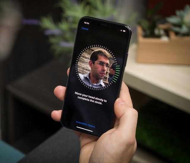 Face id seperti milik Iphone akan di Gunakan Android Q